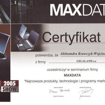 Seminarium MAXDATA