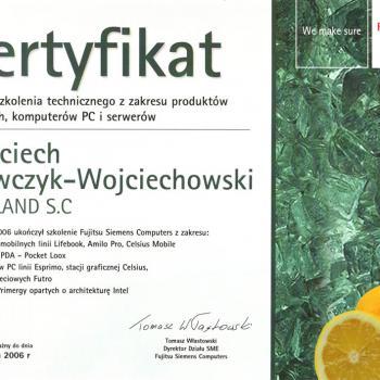 Szkolenie techniczne z zakresu produktów mobilnych, komputerów PC i serwerów