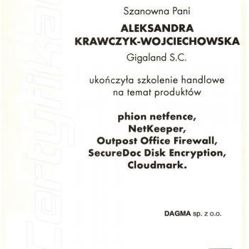 Szkolenie handlowe na temat produktów firmy DAGMA sp.z.o.o.